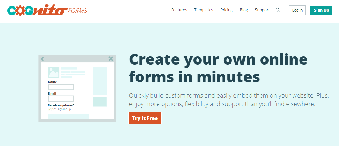 cognito forms best jotform alternative