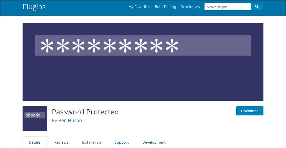 plugin homepage