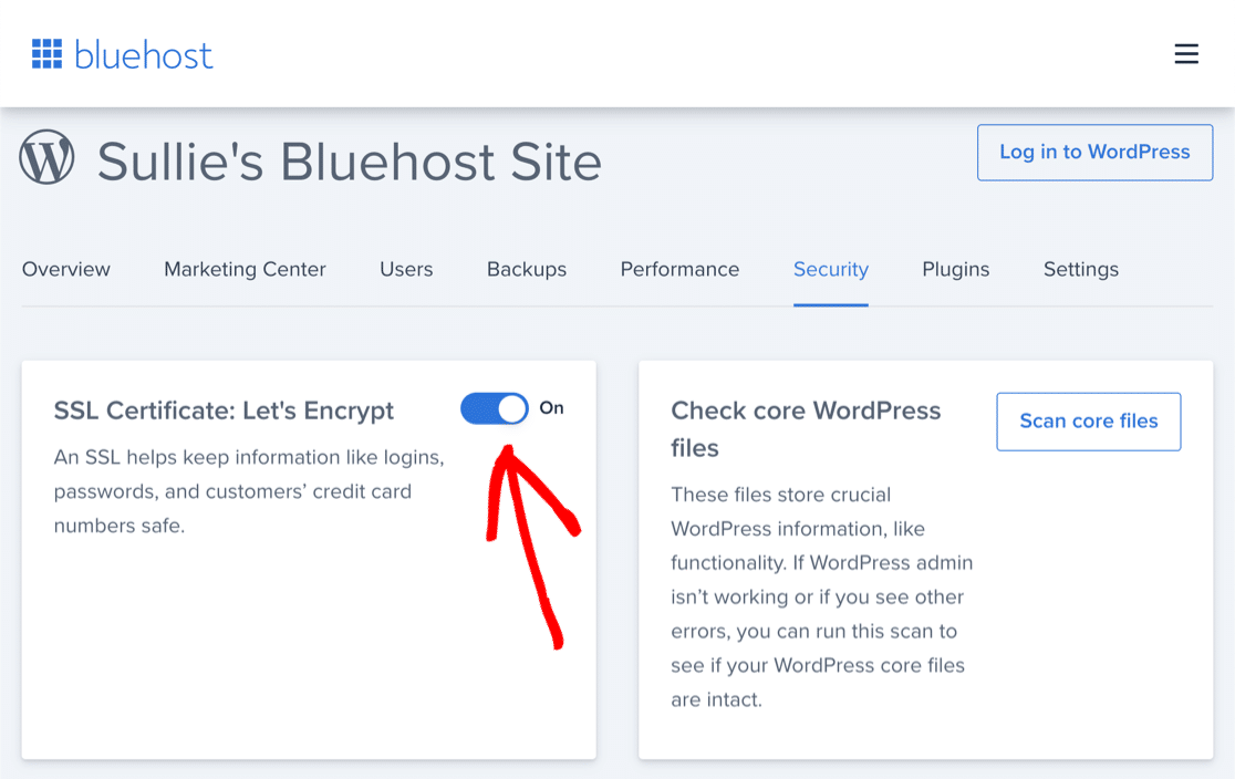How to enable Let's Encrypt SSL on Bluehost