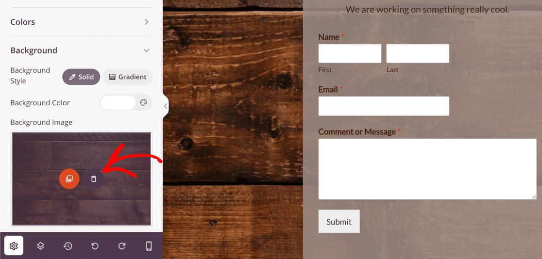 SeedProd maintenance mode page background