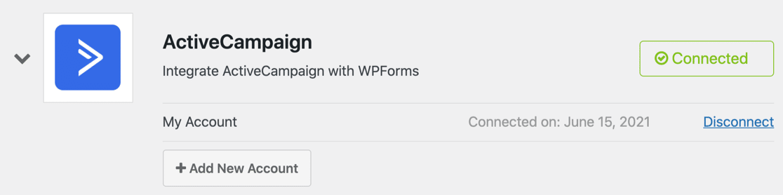 ActiveCampaign form settings