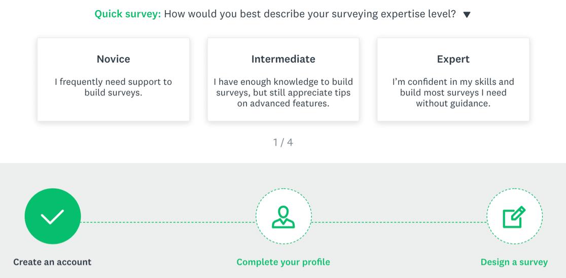 SurveyMonkey - getting started