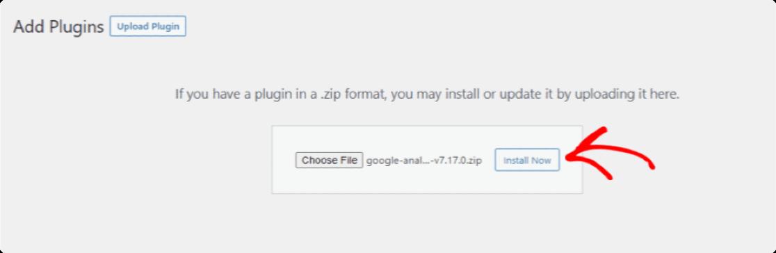 install monsterinsights