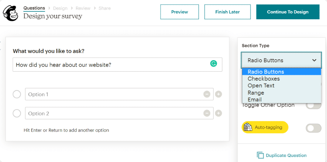 creating-survey-with-mailchimp