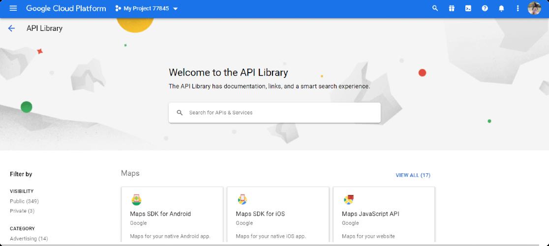 google-api-library
