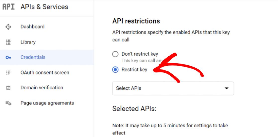 restrict-api-key