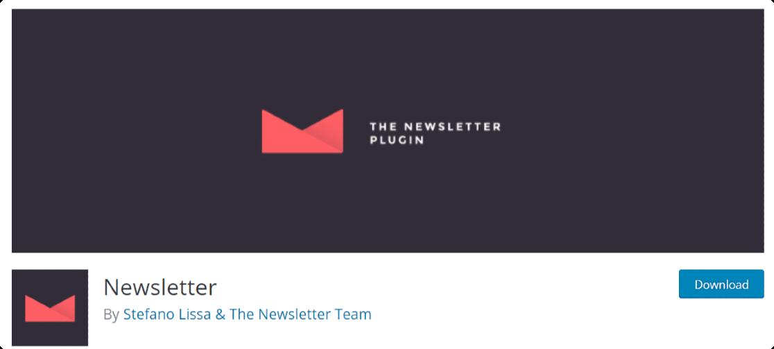 Newsletter - wordpress email subscription plugin