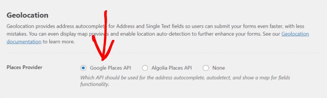 select-Google-Maps-provider
