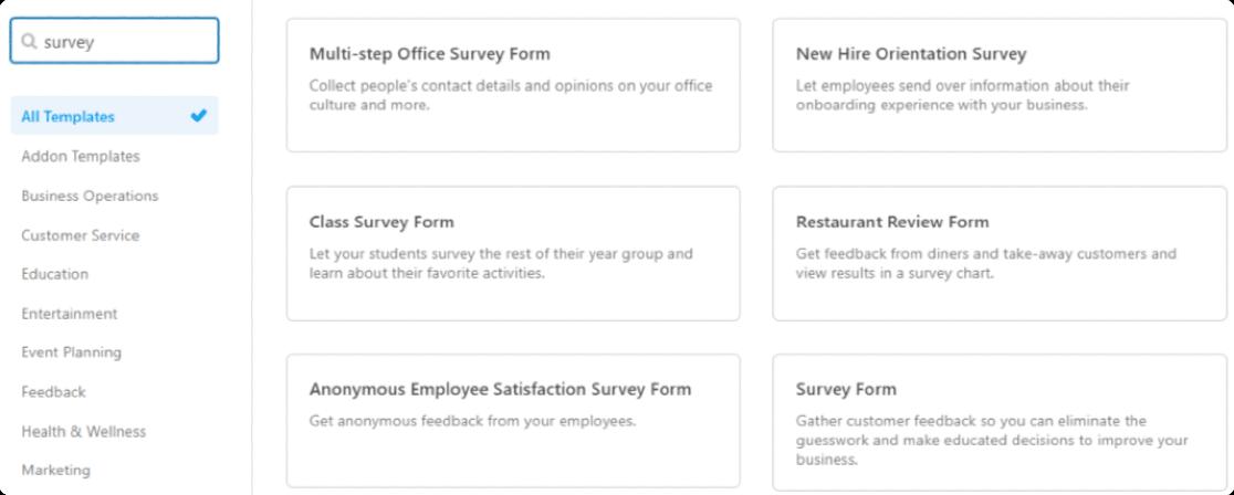 wpforms-survey-templates