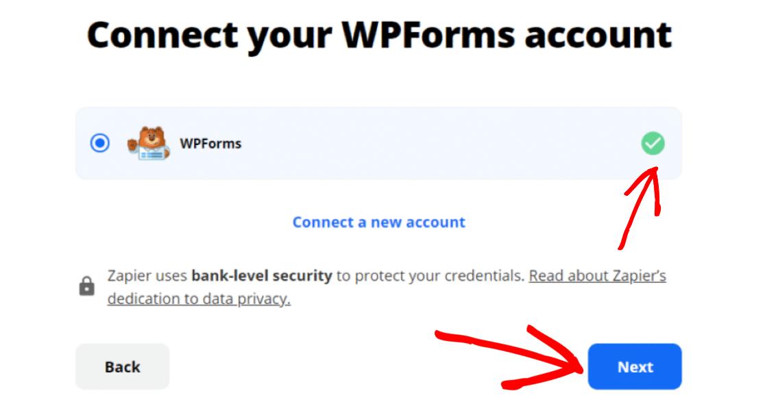 Connect WPForms