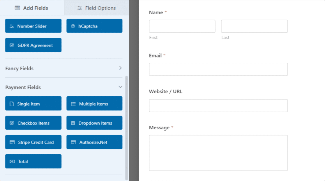 customize simple contact form