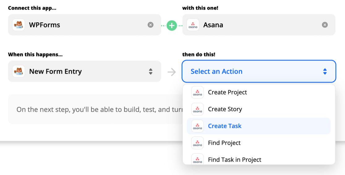 Top Asana integrations - WPForms