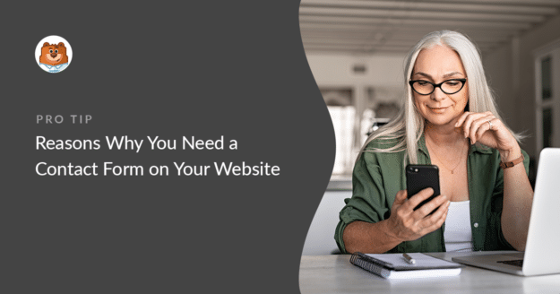 Why you need a contact form