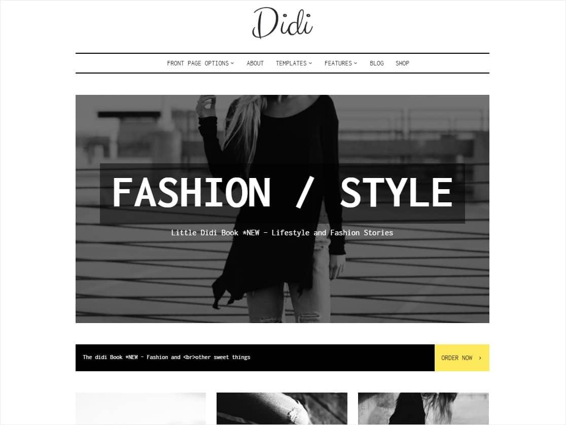 best minimalist wordpress blog themes