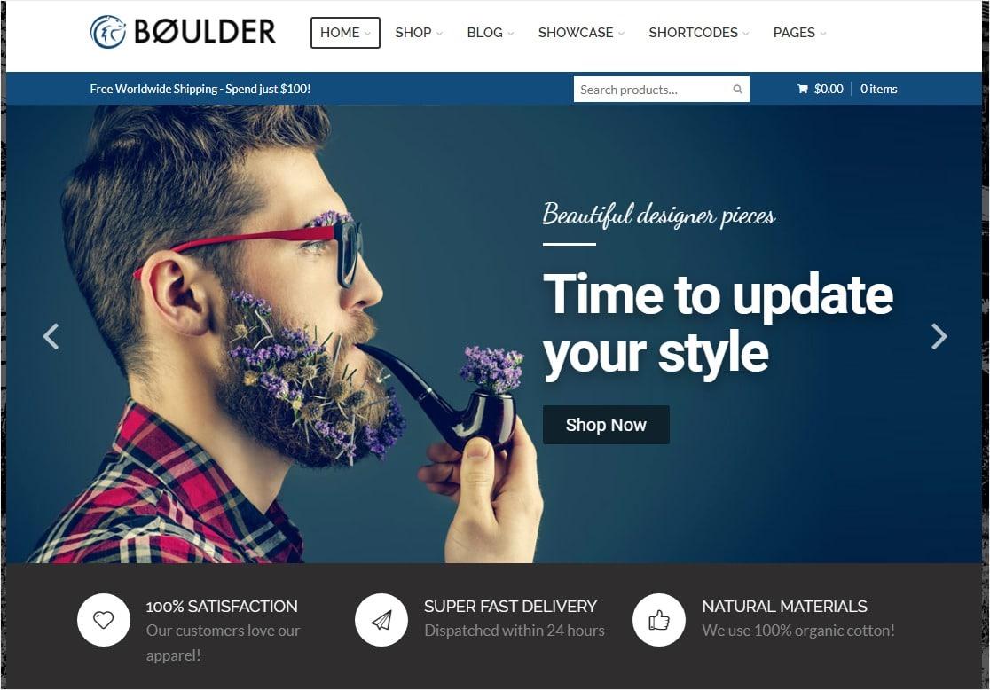 boulder online store wordpress theme