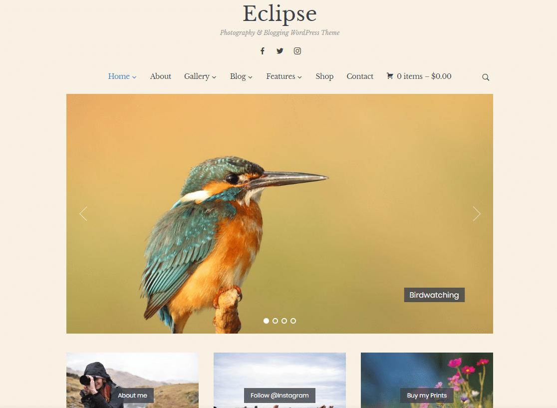 eclipse wordpress blog