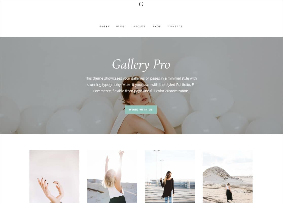 gallery pro featured images