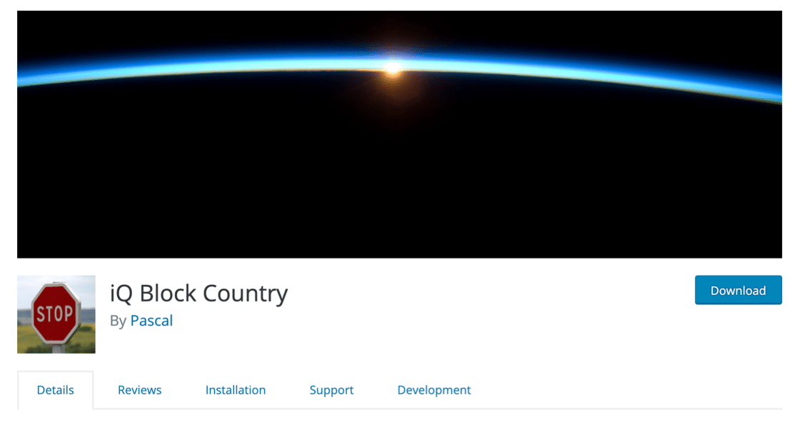 iQ Block Country geolocation plugin